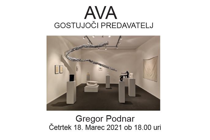Gostujoči umetnik: Gregor Podnar